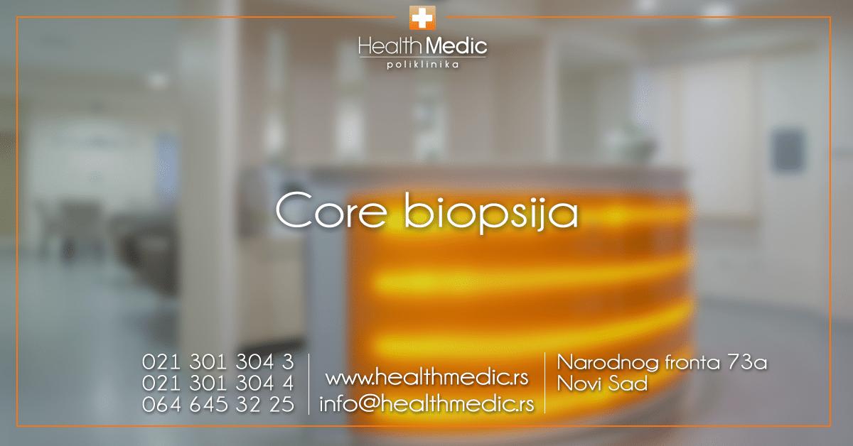 Core biopsija