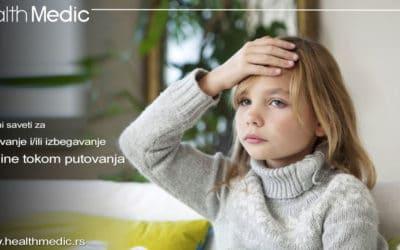 Mučnina tokom putovanja kod dece