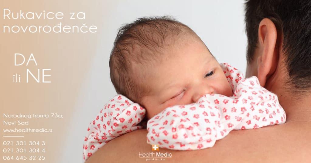 Rukavice za novorođenče – da ili ne?