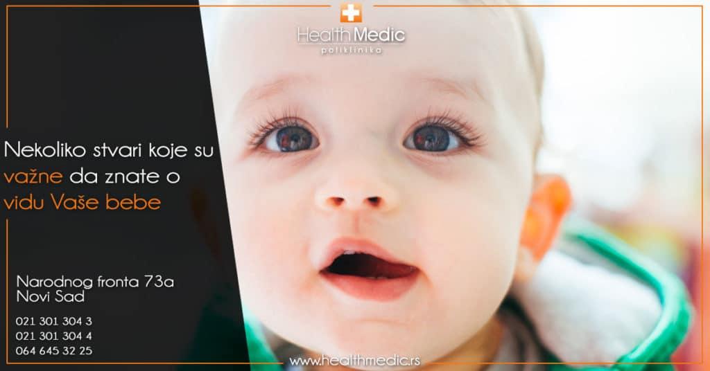 Nekoliko stvari koje su važne da znate o vidu Vaše bebe