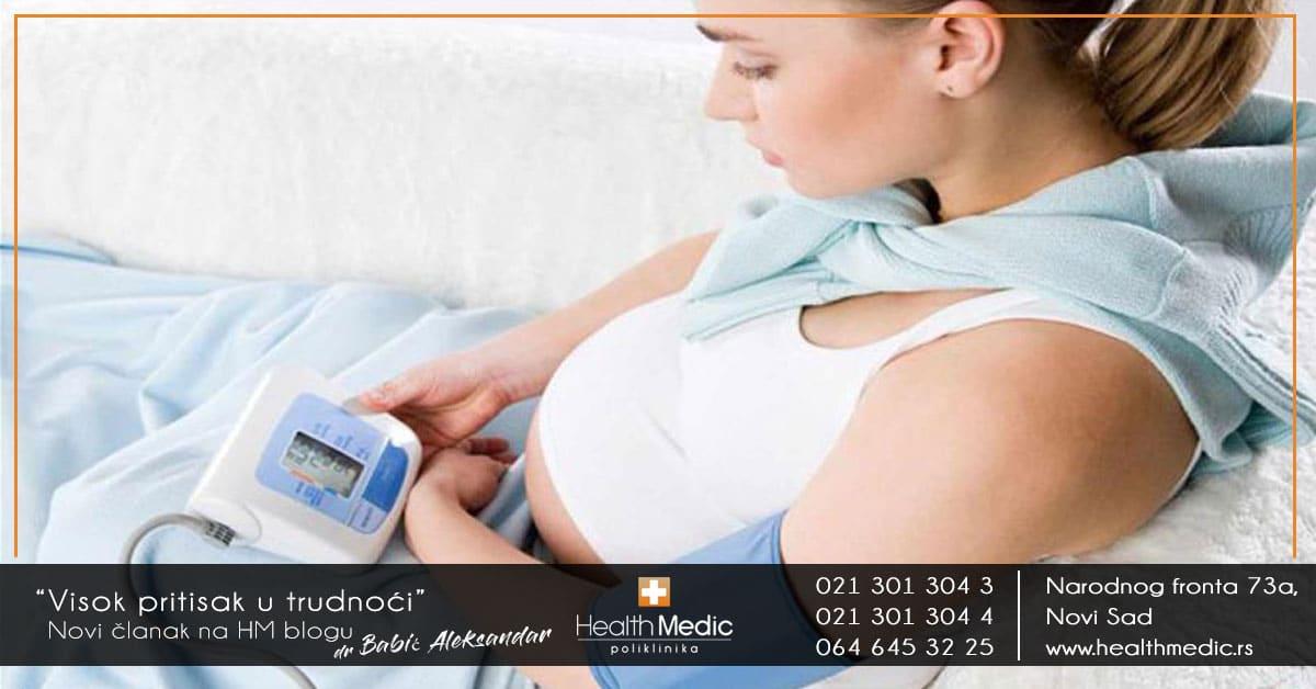 Visok pritisak u trudnoći