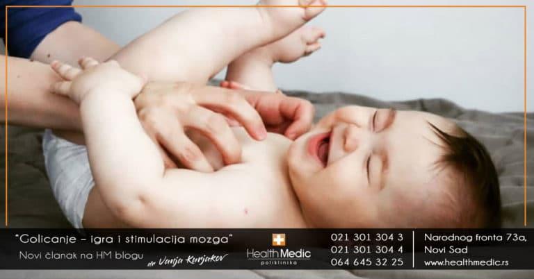 golicanje bebe
