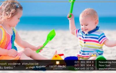 Prednosti vodene stimulacije za vašu bebu