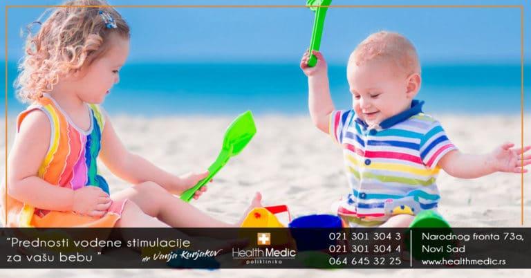 vodena stimulacija za bebe