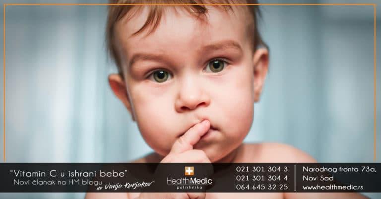 vitamin c u ishrani dece