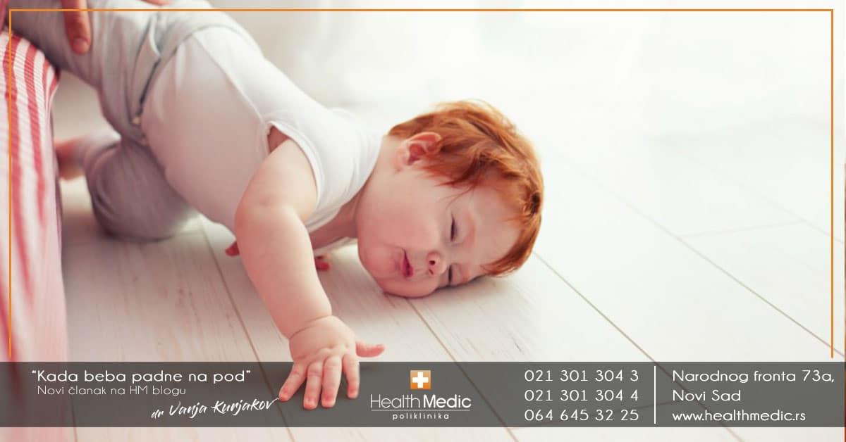 Kada beba padne na pod