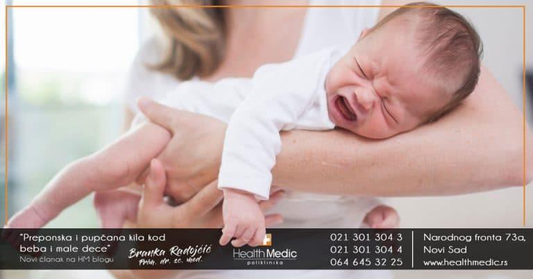 kila kod beba i male dece