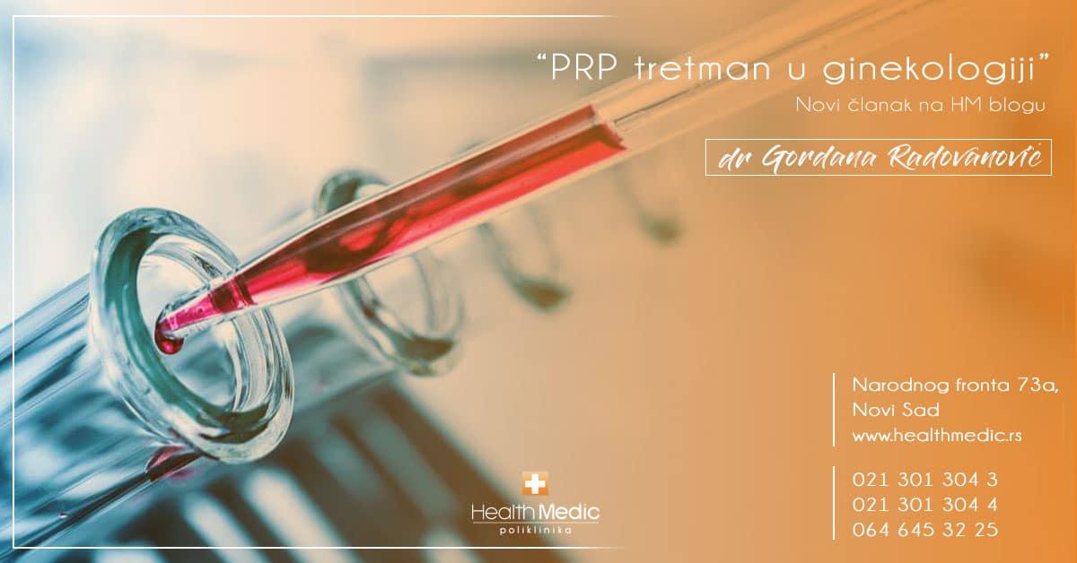 PRP tretman u ginekologiji