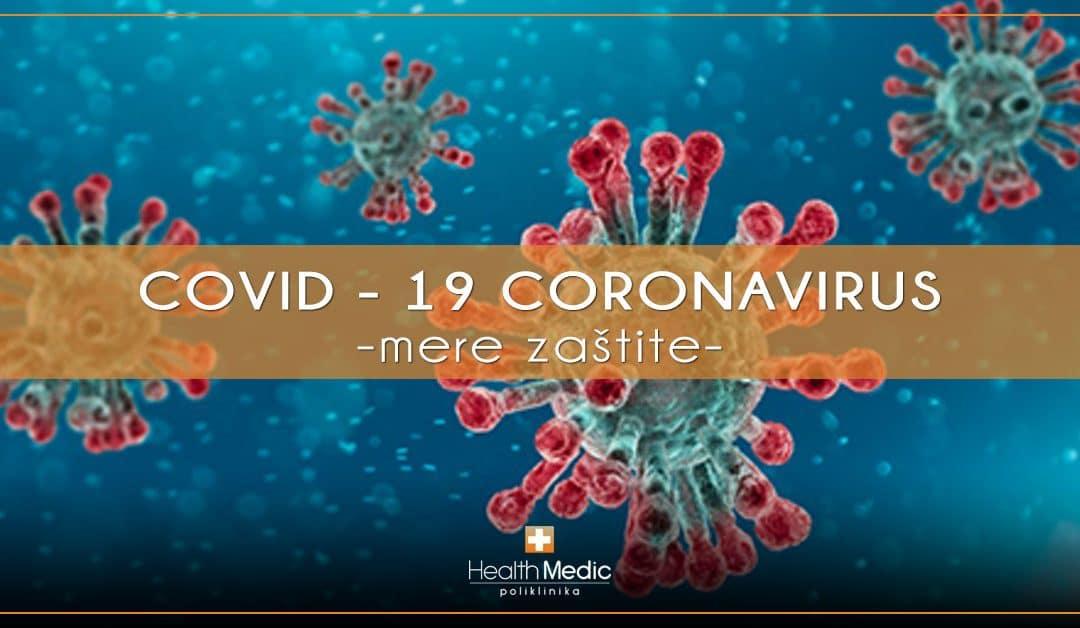 Korona virus – mere zaštite