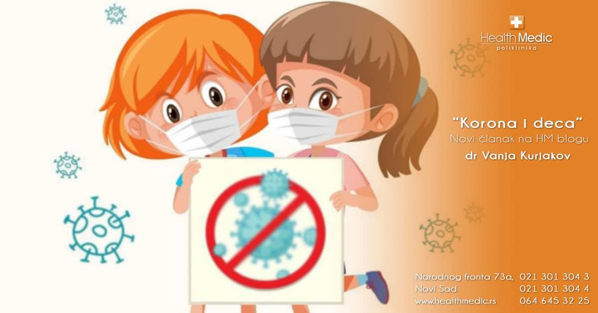 korona virus i deca