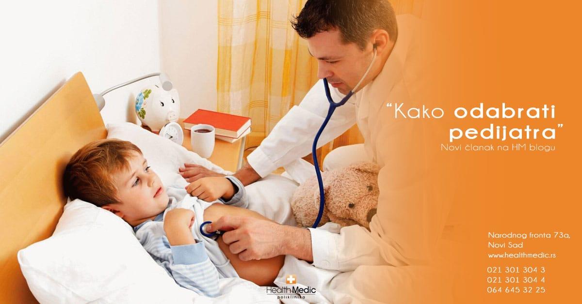 kako odabrati pedijatra