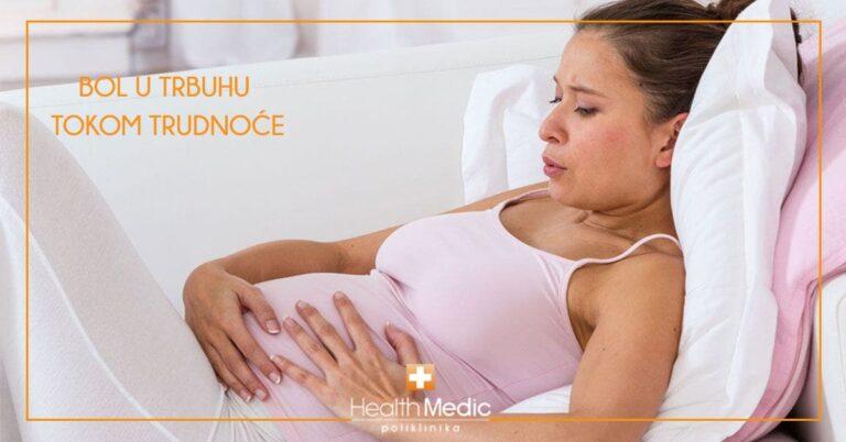 Bol u trbuhu tokom trudnoće